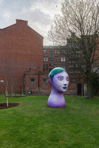 Nicolas Party 'Head', The Modern Institute, Aird's Lane Green Space, Glasgow International 2018