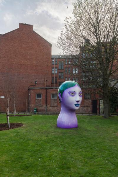 Nicolas Party 'Head', The Modern Institute, Aird's Lane Green Space, Glasgow International 2018