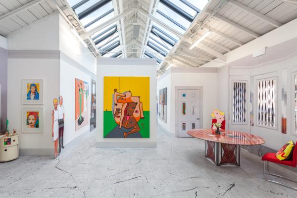 Duggie Fields, The Modern Institute Osborne Street, Glasgow International 2018