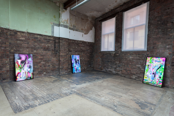 Installation view 'Magic Stuff', The Modern Institute, Aird's Lane Brick Space, 2018