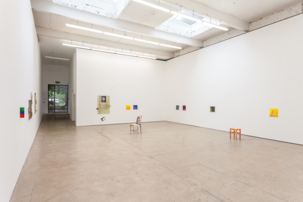 Installation view, 'Think I Wanna drive your Benz (I don't)', The Modern Institute, Aird's Lane, 2018