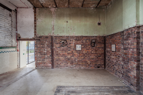 Installation view, The Modern Institute, Aird's Lane Bricks Space, Glasgow, 2018