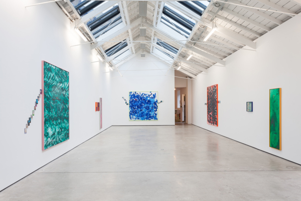 Installation view 'All the Time', The Modern Institute, Osborne Street, Glasgow, 2018