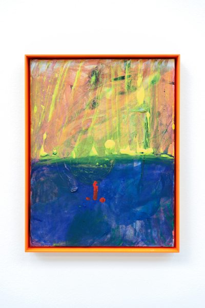Mores, 2018, Acrylic on canvas, aluminium frame, 42 x 32 x 3.8 cm