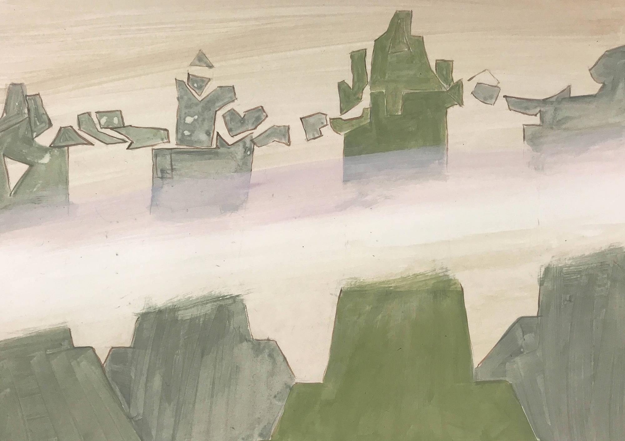 Mist at the Pillars