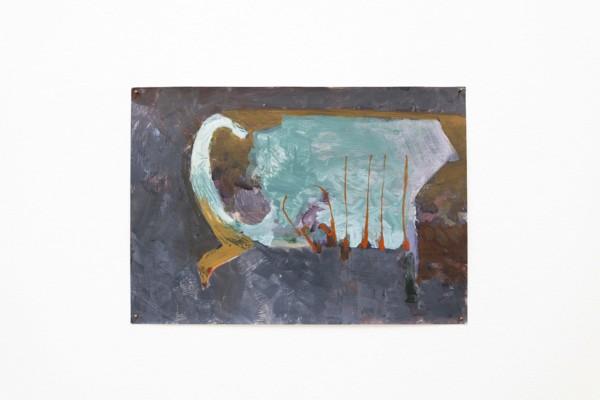 Small Jug, 2019, Acrylic, paper, 21 x 29.7 cm