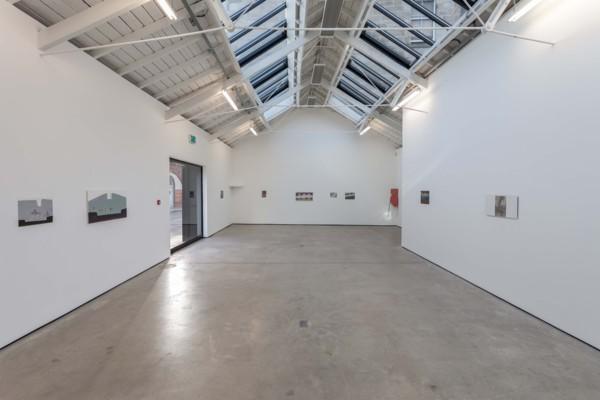 Installation view 'Mist at the Pillars', The Modern Institute, Osborne Street, Glasgow, 2019