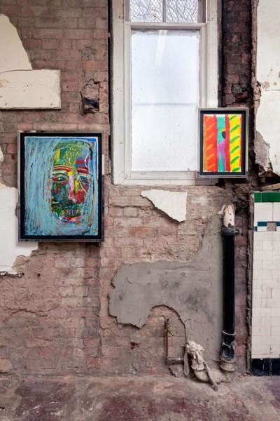 Installation view 'The Pastels', The Modern Institute, Aird's Lane Bricks Space, Glasgow, 2019