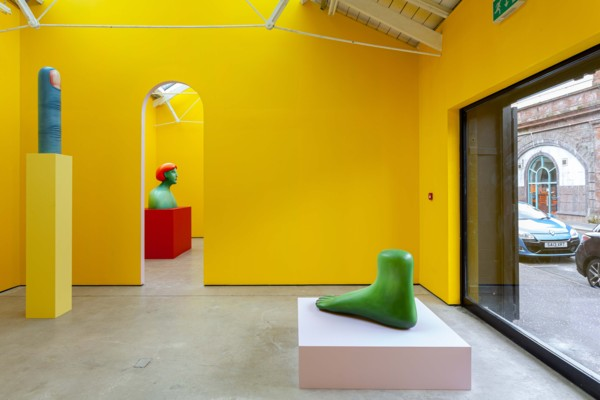 Installation view 'Polychrome', The Modern Institute, Osborne Street, Glasgow, 2019