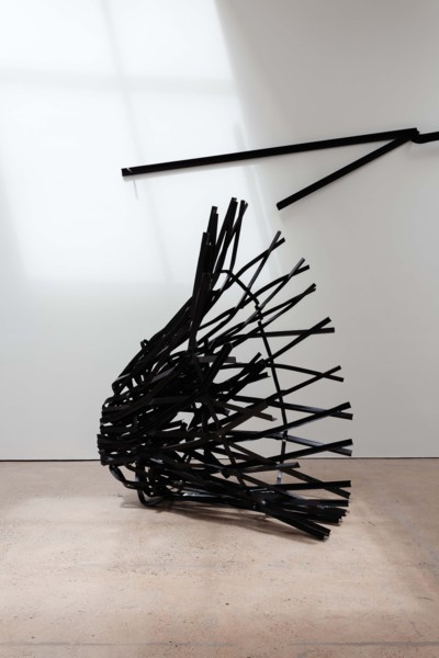 Tower, 2019 Steel, paint, 300 x 160 x 160 cm