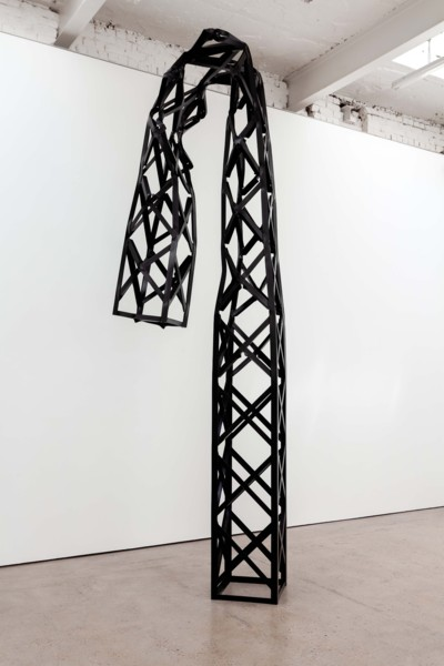 Truss, 2019, Steel, paint, 440 x 130 x 105 cm