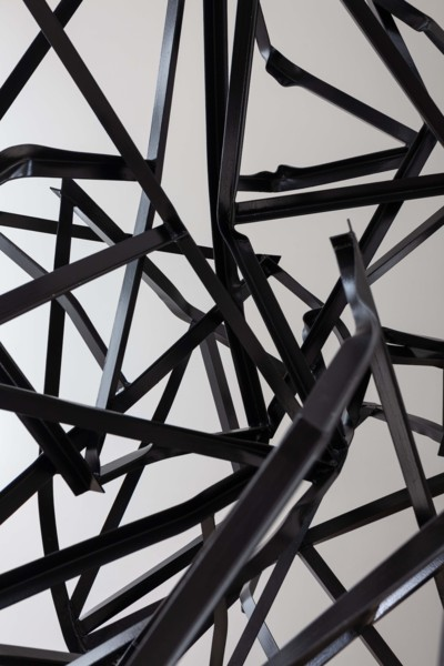 Struts, 2019 (detail) Steel, paint, 475 x 185 x 150 cm