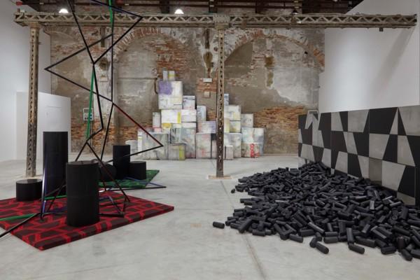 Installation view, The Shrinking Universe, Irish Pavilion, Biennale Arte 2019