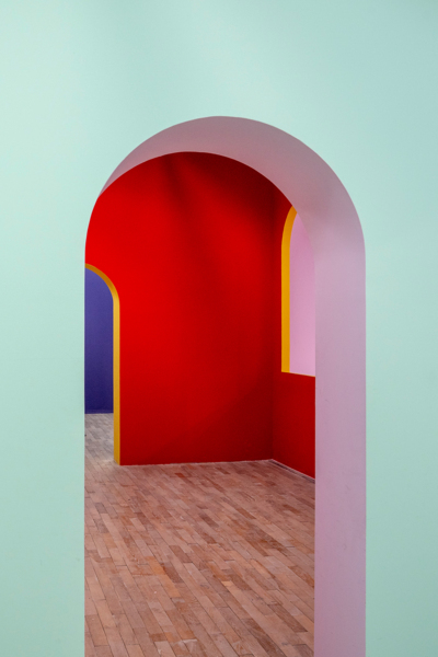 Installation view 'Arches', M WOODS, Beijing, 2018