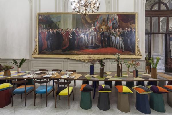 Installation view 'Tabula Rasa', Museo del Risorgimento, Torino, 2017