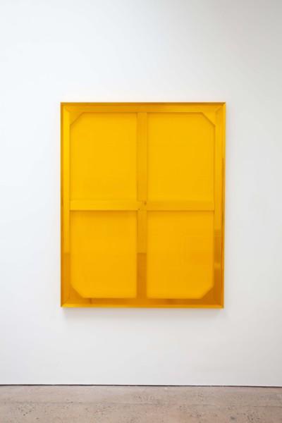 Vitamin C, 2019, Aluminum, vinyl, 165.1 x 132.1 cm