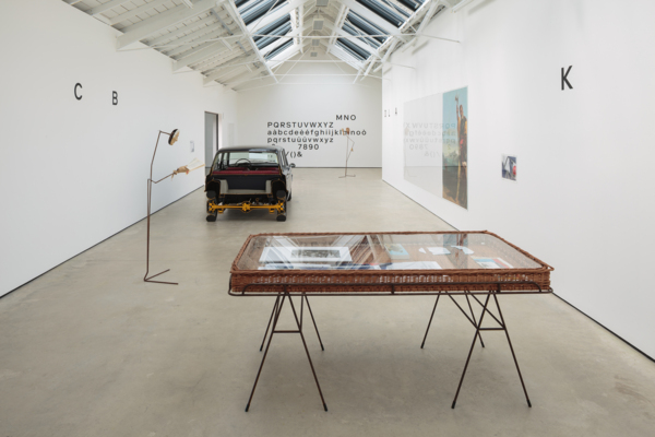Installation view, A-A', B-B', The Modern Institute, Osborne Street, Glasgow, 2019
