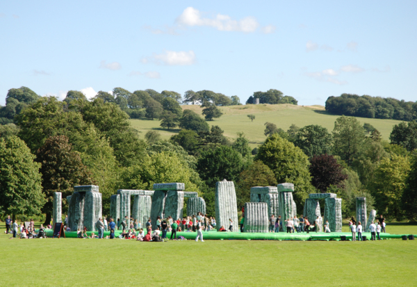 Installation view, Yorkshire Sculpture Park, Wakefield, 2012