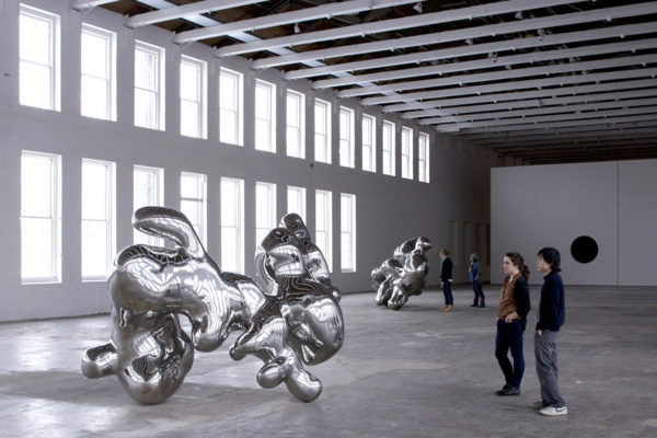 Installation view 'The Nanjing Particles', MASS Museum of Contemporary Art, North Adams, Massachusetts, 2008