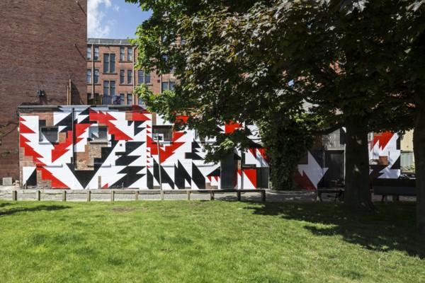 Installation view, The Modern Institute, Aird's Lane Bricks Space, 2017