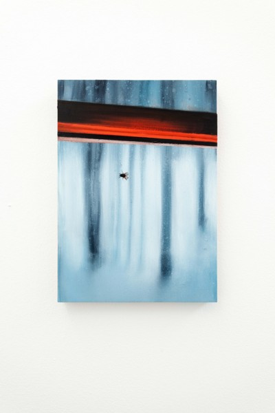 Untitled, 2019, Oil on aluminium panel, 35.6 x 25.4 cm