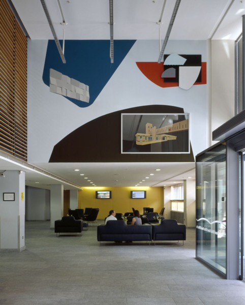'New Townscape 1 & 2', The Home Office, London (permanent work for the new Marsham Street building), 2005