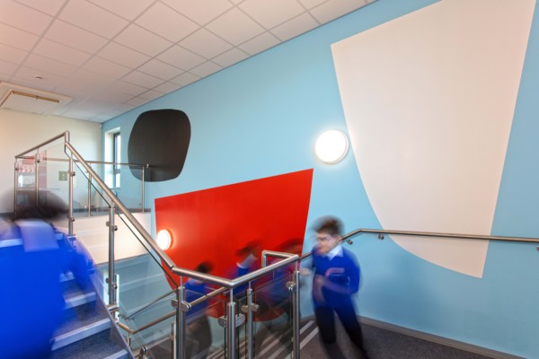 'A Shift in Perspective', Minerva Primary Academy, Hillfields, Bristol (Commissioned by PONY), 2018