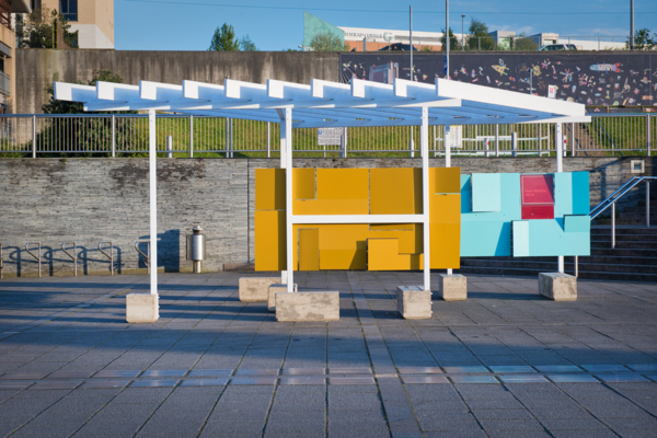 'Hatton Pavilion', Public pavilion project over 3 venues with the Hatton Gallery, Newcastle upon Tyne, 2017