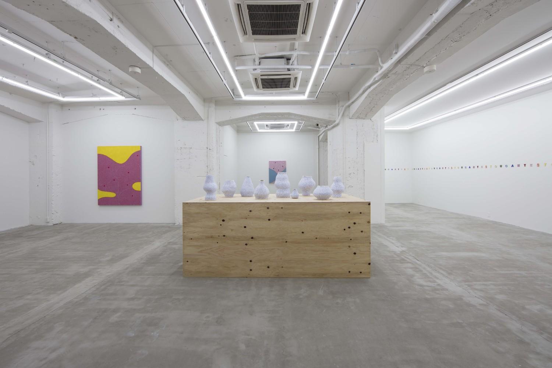 Installation view 'Pump and Bump', NANZUKA, Tokyo, 2019