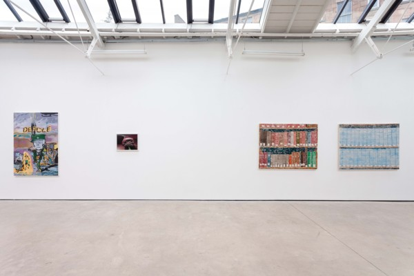 Installation View, 'Superfare', The Modern Institute Osborne Street, 2020