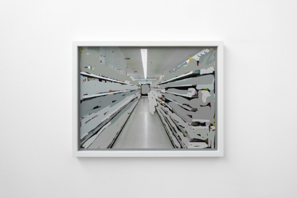 Empty Shelves, 2020, Digital print, 44 x 57.6 x 3.4 cm, Edition of 1 plus 1 artist's proof