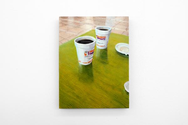 Dike Blair, Untitled, 2019, Oil on aluminium panel, 30.5 x 22.9 cm (unframed) 12 x 9 in (unframed)