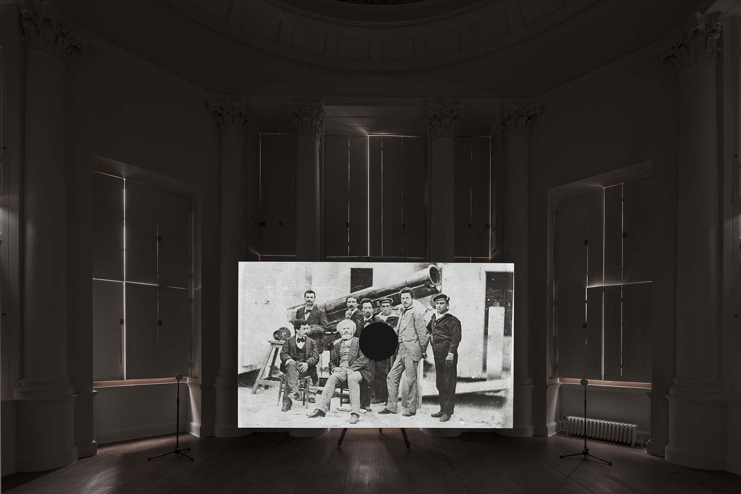 Installation view, Radcliffe Observatory, Oxford