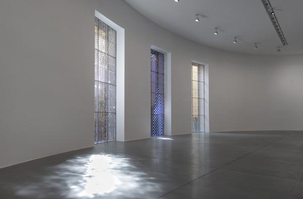 Installation view, Gagosian Gallery, Rome, 2015