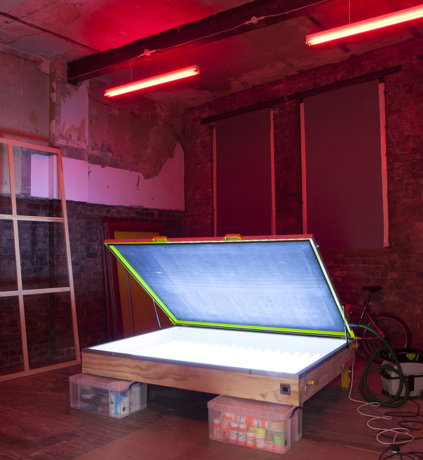 Installation view 'This Way Out', The Modern Institute, Aird's Lane, Glasgow, 2017