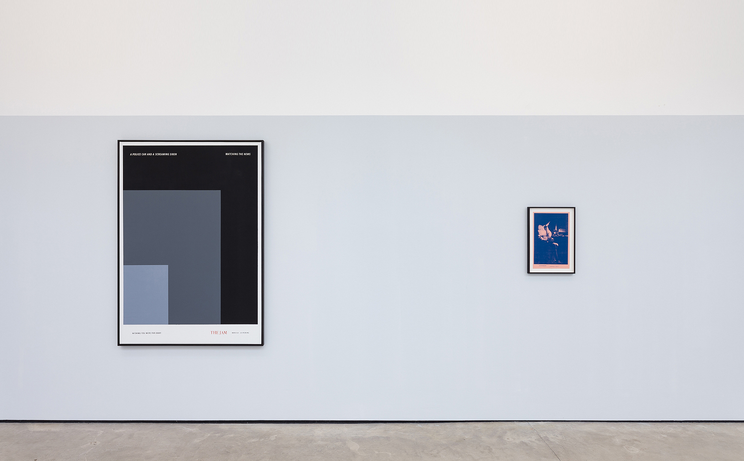 Installation view 'In Another Country', The Modern Institute, Osborne Street, Glasgow, 2020