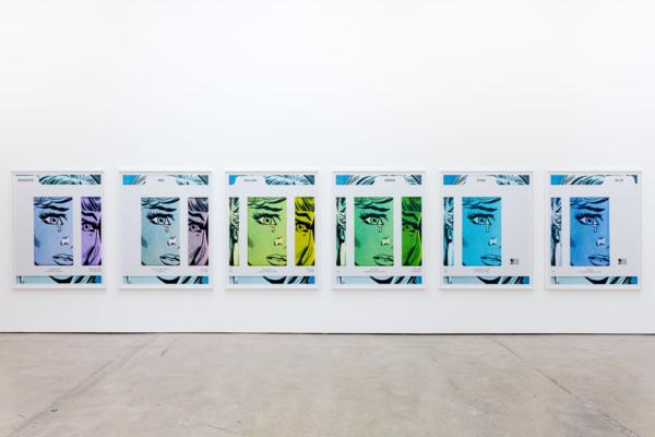 Installation view, Anne Collier, The Modern Institute, Aird's Lane, Glasgow, 2020