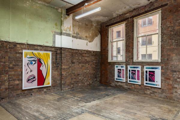 Installation view, Anne Collier, The Modern Institute, Aird's Lane Bricks Space, Glasgow, 2020