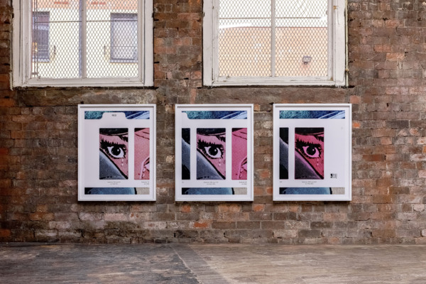 Anne Collier, Filter #2 (Triptych/Red), 2020, C-print, Three parts, 93.7 x 76.6 x 4.5 cm, 36 7/8 x 30 1/8 x 1 3/4 in each framed, Edition of 5