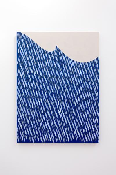 Boing Boing, 2020, Acrylic on wood panel, 101.6 x 76.2 cm, 40 x 30 in