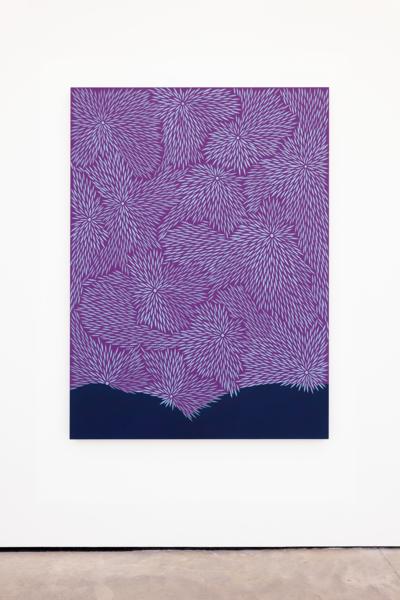 Storm Shake, 2020, Acrylic on wood panel, 167.6 x 121.9 cm, 66 x 48 in