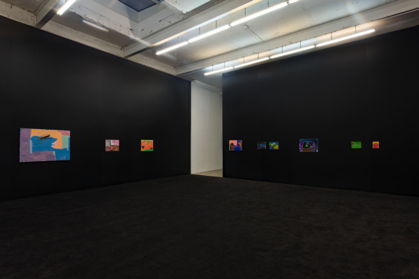 Installation view, 'Pearl Lines', The Modern Institute, Aird's Lane, Glasgow, 2020