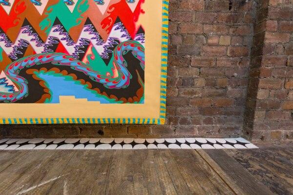 Installation view, 'Scab Diagram', The Modern Institute, Bricks Space, Glasgow, 2021