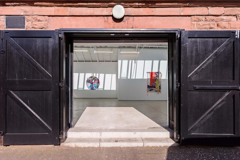 Installation view 'Silk Cotton Snow' The Modern Institute, Osborne Street, 2021