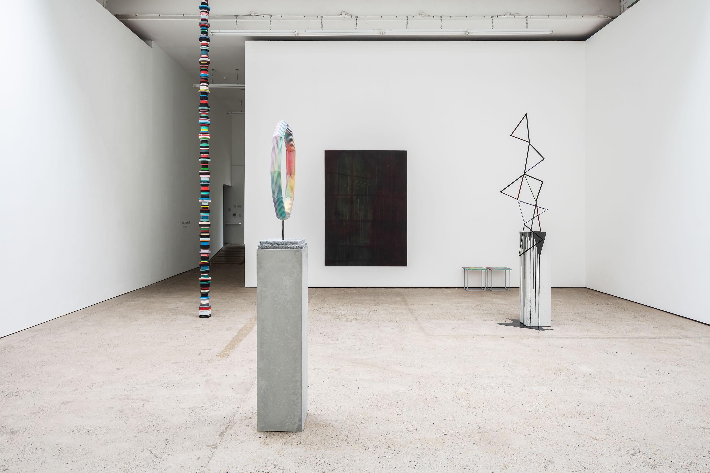 Installation view 'Peak Times', The Modern Institute, Aird's Lane, 2021 (Part of Glasgow International 2021)
