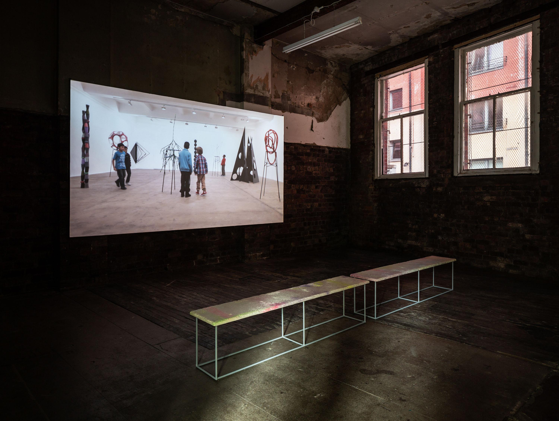 Boys and Sculpture, 2012, HD Video, Duration: 25 min 30 sec