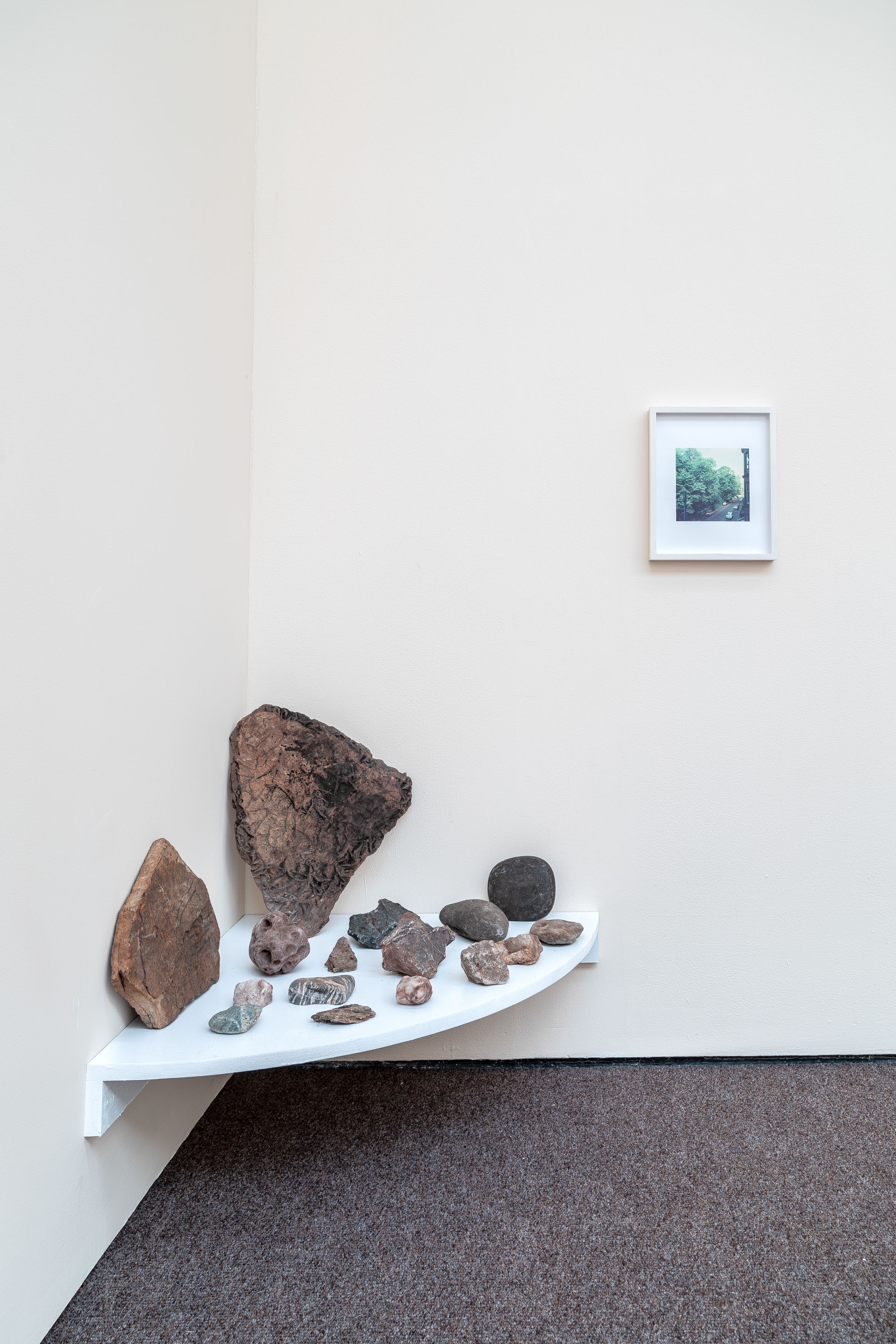 Installation view 'Index Cards and Letters', The Modern Institute, Osborne Street, 2021 (Part of Glasgow International 2021)